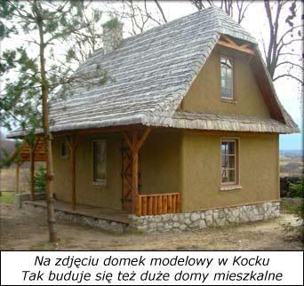 Dom z gliny i słomy